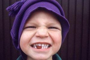Ребенок на консультации ортодонта