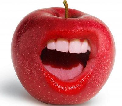 Яблочное настроение - и зубной боли как не бывало!