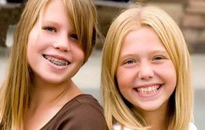 Брекеты для детей, исправление кривых зубов, виды несъемных систем