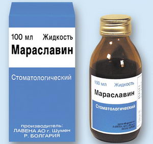 Мараславин: инструкция по применению раствора от пародонтоза и гингивита