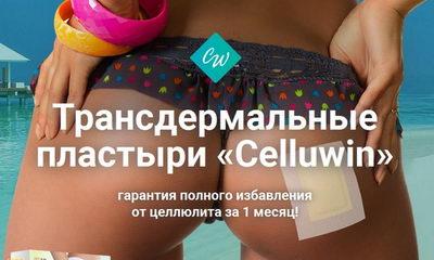 Антицеллюлитный пластырь Celluwin