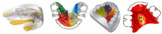 Детские съемные ортодонтические системы