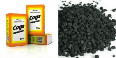 Цена соды и угля для отбеливания