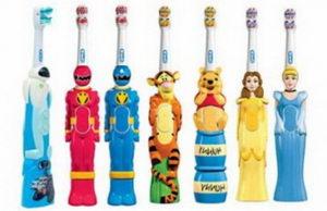 Детская зубная щетка: правила выбора