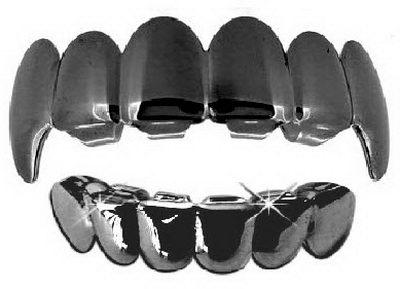 Штампованные зубные накладки