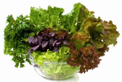 Зелень - продукт, который полезен для зубов