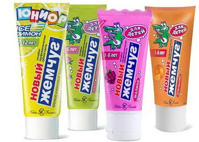 Зубные пасты для детей