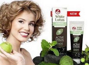 Отбеливающая паста для зубов White Lotus: преимущества и недостатки