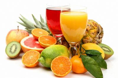 Продукты с содержанием витамина С