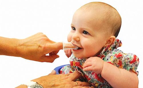 Гигиена полости рта у малыша