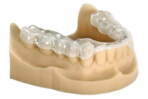 Ортотик на нижнюю челюсть